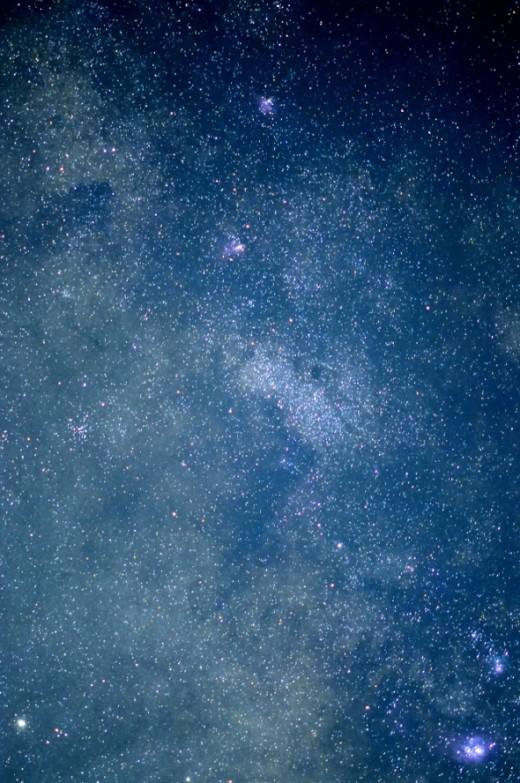 The Milky Way in Sagittarius