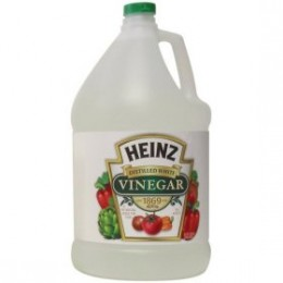 Everyone recognizes the Heinz vinegar bottle - but any brand of 5 per cent vinegar will handle most cleaning jobs.