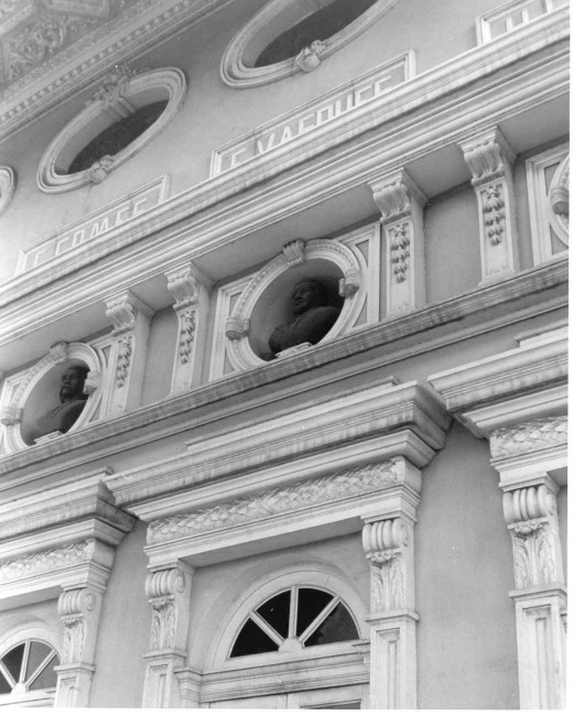 Opera House facade detail