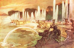 Fountains of Neptune in 1910