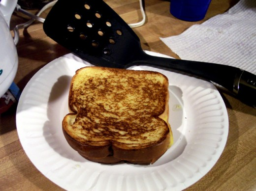 Yum ... Grilled Cheese Sandwich