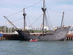 Columbus sailed to America