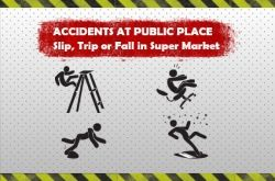 accident at public place