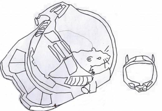 Biscuit the Rat & The Halo Helmets