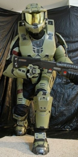 You don't want to mess with this Master Chief.