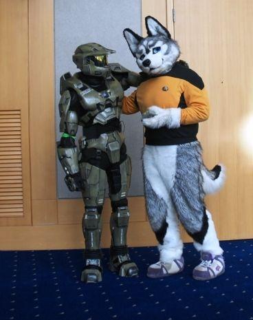 Halo Master Chief Armor & Star Trekk Character