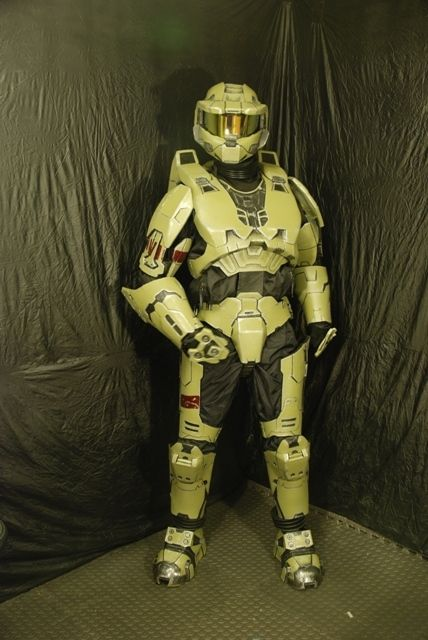 The Master Chief, a Mark VI Spartan