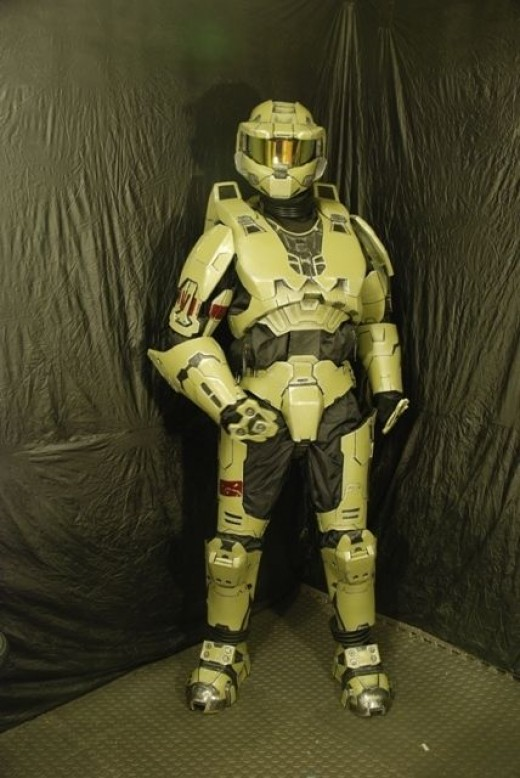 The Master Chief, a Mark VI Spartan