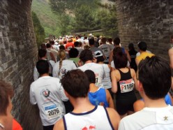 Bottlenecks made even those wanting to run, walk