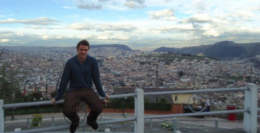Me on top of Quito!