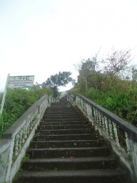 but the stairs till up are really hard.