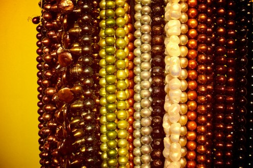 Beads in a variety of shades