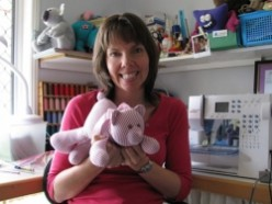 EASY recycled T shirt project - make a cute Teddy Bear