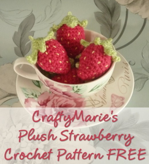 Sweet Summer Strawberries Crochet Photo Tutorial