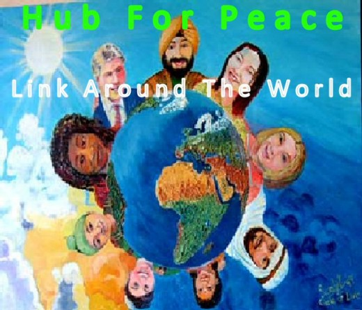 Hubs across the world unite for peace