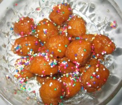 Struffala: Italian Honey Balls