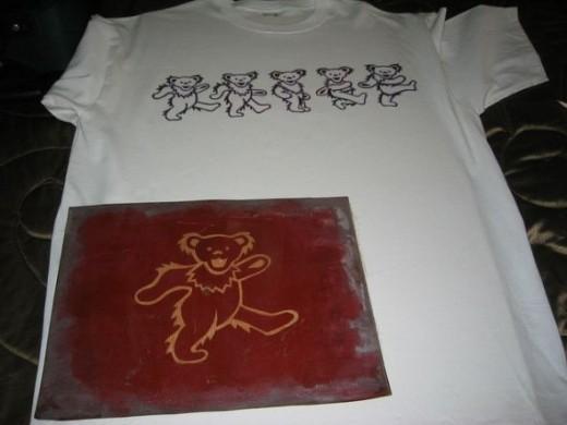 tee shirt stencil