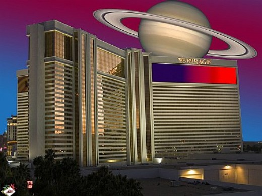Mirage Las Vegas, with some digital editing.