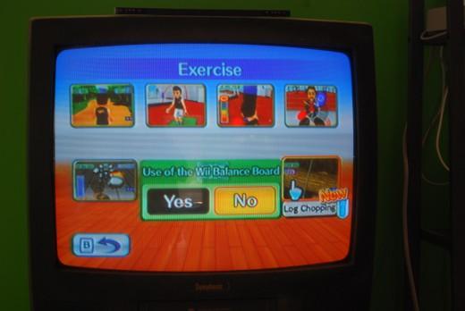 Exercises without Balance Board