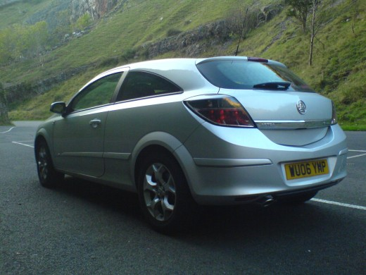 New Vauxhall Astra Sport Hatch Rear View