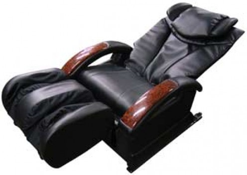 synthetic leather on a massage chair