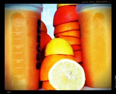 Orange and Lemon Zesty Goodness