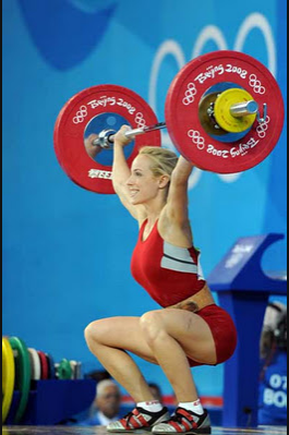The Ultimate In Fitness Olympic Weight Lifter Marilou Dozois-Prevost