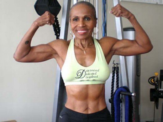 She Is An Ultimately Fit Woman and she is 74!