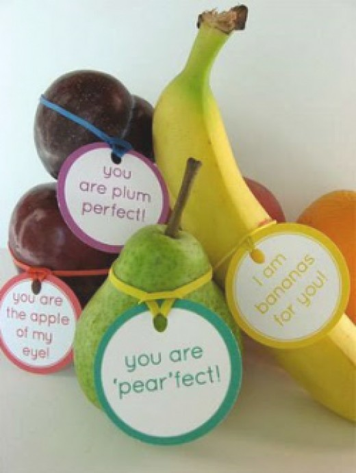 Why not just say it with fruit!