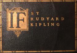 IF . . By Rudyard Kipling