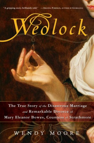 The cover of 'Wedlock' by Wendy Moore.