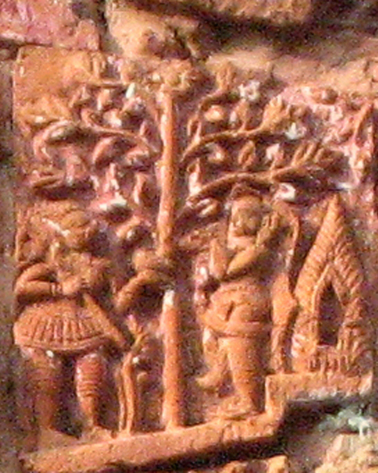 RAVANA ABOUT TO ABDUCT SITA