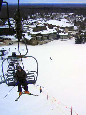 Ride the Chairlift at Crystal Mountain