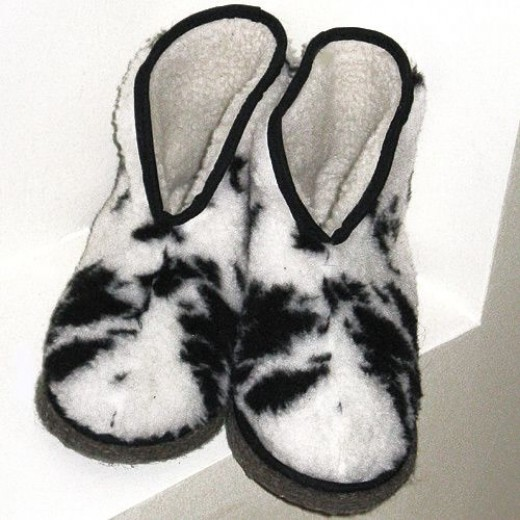 These Are My Slippers. Don't They Look Cozy?