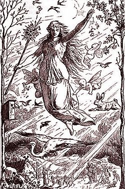 German goddess Ostara
