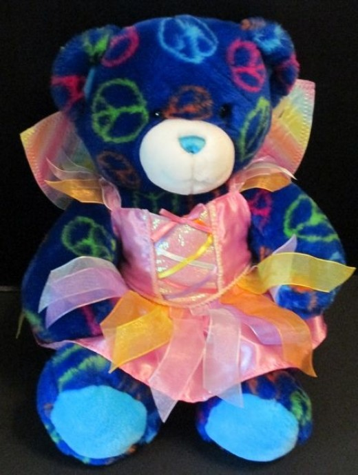 Build-a-Bear - probably not a good one, but the outfit might do okay