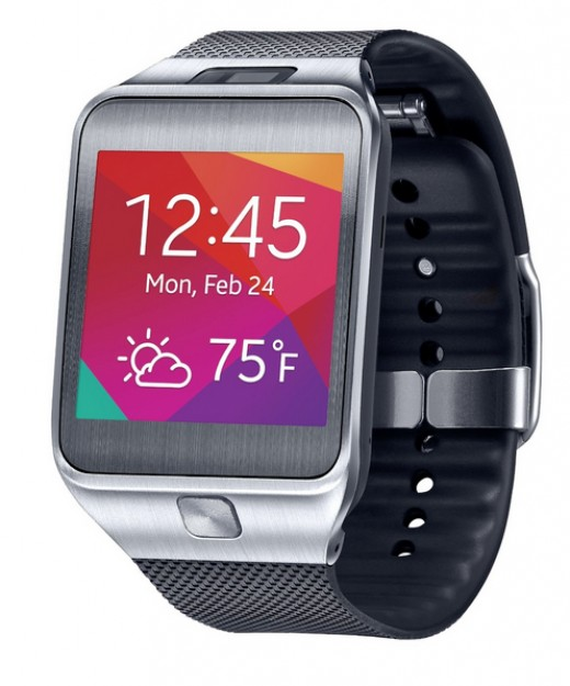 Samsung Gear 2 in Jet Black