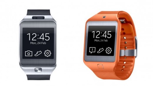 Gear 2 (left) vs. Gear Neo (right)