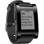 Pebble Watch (receive text message)