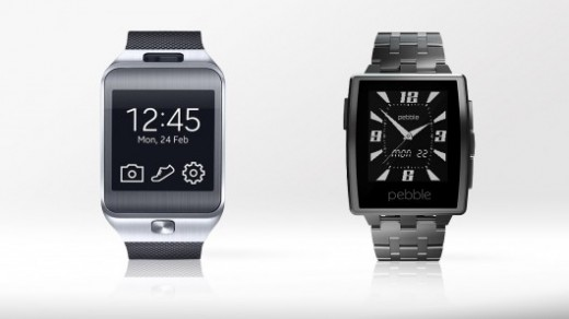 Samsung Gear 2 vs. Pebble Steel
