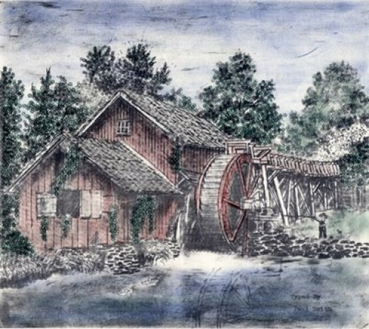 """""""The Old Mill"""""""