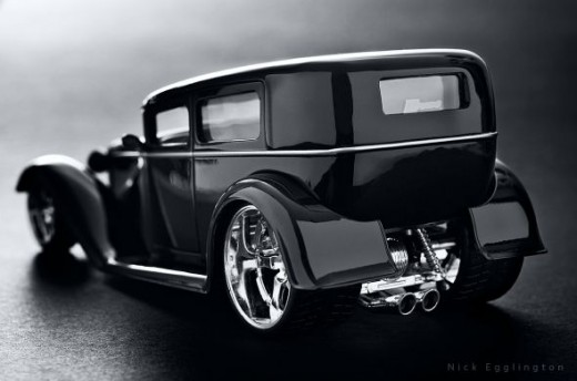 Vintage Gangster Car