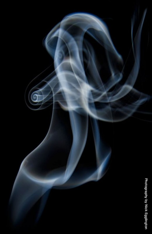 The perfect smoke spiral.