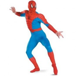 The Amazing Spider-Man Muscle Chest Adult Costume