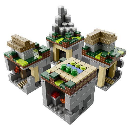 lego minecraft wereld
