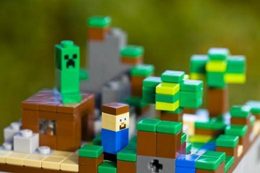 Minecraft wereld