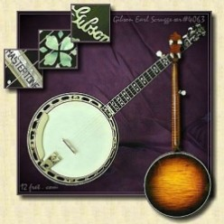 Gibson RB Banjo | Gibson Mastertone Banjo | Earl Scruggs Gibson Banjo