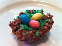 Cocoa Krispies nest egg