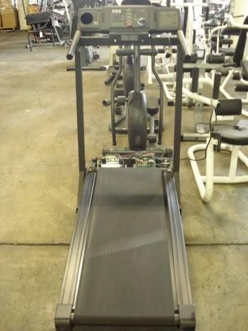 We have a ton of gym quality exercise machines, including weight machines, benches, treadmills and stair climbers and steppers.