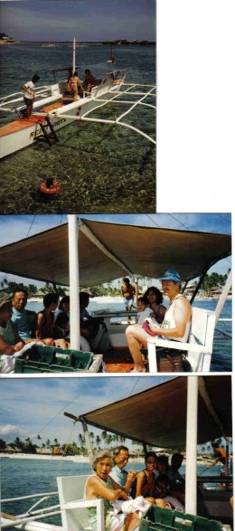 boat trip to santa rosa island, phil.